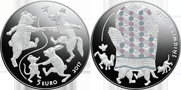 Сказочная монета III. Дедова рукавица