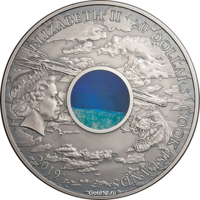 Монета «Кратер Чиксулуб» (фото - wholesale.numiscollect.eu)